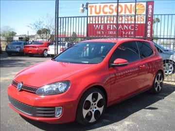 2012 Volkswagen GTI for sale at Tucson Used Auto Sales in Tucson AZ