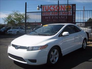 2007 Honda Civic for sale at Tucson Used Auto Sales in Tucson AZ