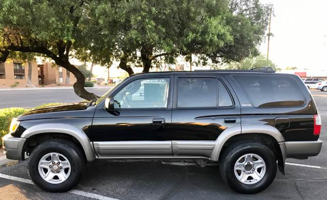2000 Toyota 4Runner for sale at Tucson Used Auto Sales in Tucson AZ