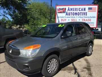 2003 Buick Rendezvous for sale at Tucson Used Auto Sales in Tucson AZ