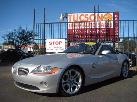 2004 BMW Z4 for sale at Tucson Used Auto Sales in Tucson AZ