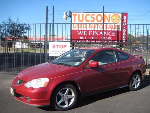 2002 Acura RSX for sale at Tucson Used Auto Sales in Tucson AZ