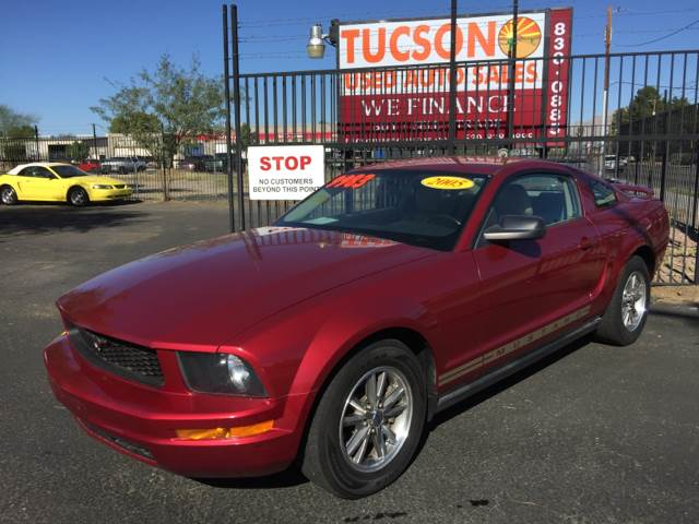 2005 Ford Mustang for sale at Tucson Used Auto Sales in Tucson AZ