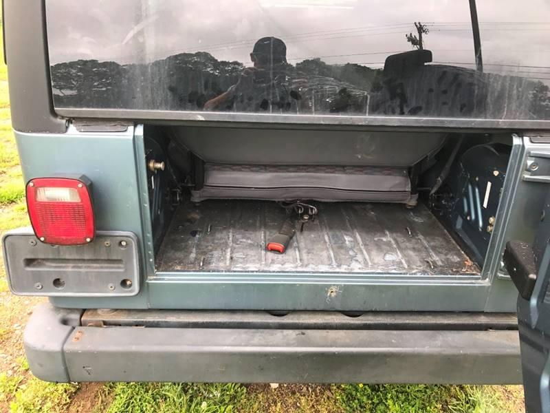 1998 Jeep Wrangler 2dr Sport 4WD SUV - Branford CT