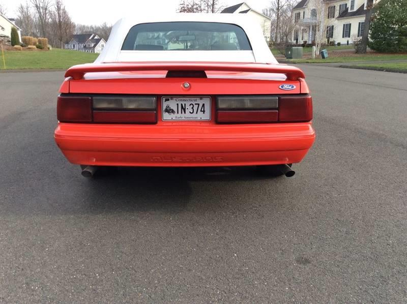1992 Ford Mustang LX 5.0 2dr Convertible - Branford CT