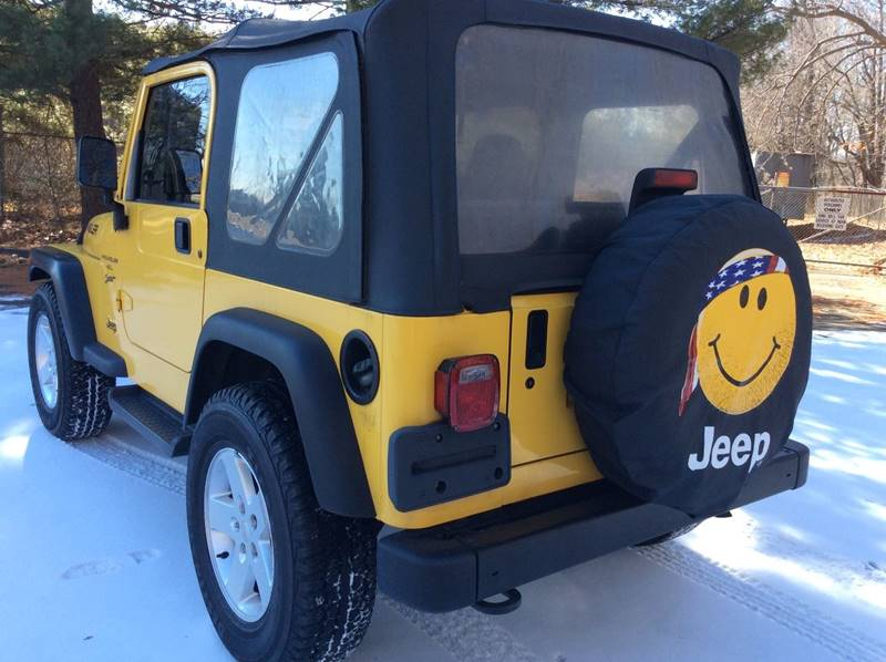 2001 Jeep Wrangler Sport 4WD 2dr SUV - Branford CT