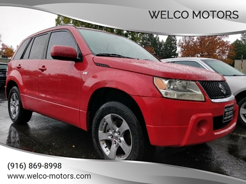 2006 Suzuki Grand Vitara for sale in Rancho Cordova, CA