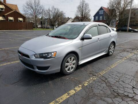 2014 Mitsubishi Lancer ES for sale at USA AUTO WHOLESALE LLC in Cleveland OH