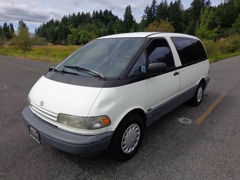 1993 Toyota Previa for sale in Centralia, WA