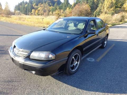 2003 Chevrolet Impala for sale in Centralia, WA