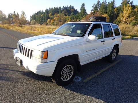 1997 Jeep Grand Cherokee for sale in Centralia, WA