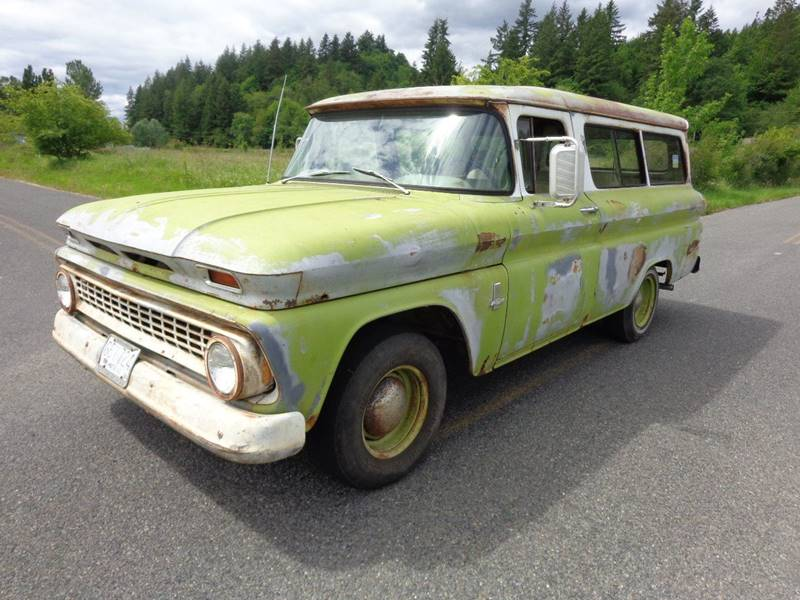 1963 Chevrolet Suburban 2DR for sale at State Street Auto Sales in Centralia WA