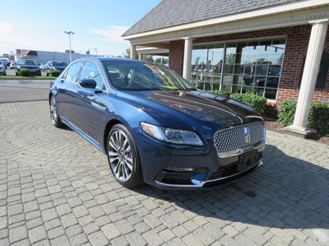 2017 Lincoln Continental for sale in Bowling Green, OH