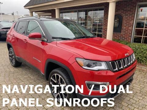 2018 Jeep Compass Limited for sale at Bowling Green Lincoln Auto Sales in Bowling Green OH
