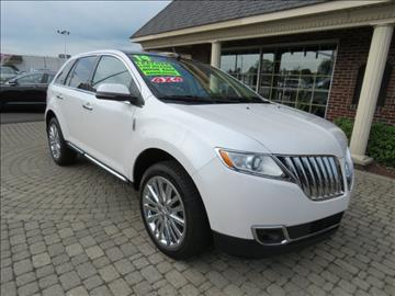 2014 Lincoln MKX for sale in Bowling Green, OH