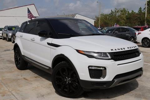 2016 Land Rover Range Rover Evoque for sale in Homestead, FL