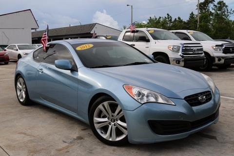 2012 Hyundai Genesis Coupe for sale in Homestead, FL