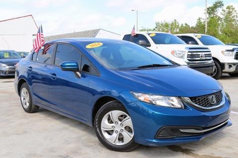 2014 Honda Civic for sale in Homestead, FL