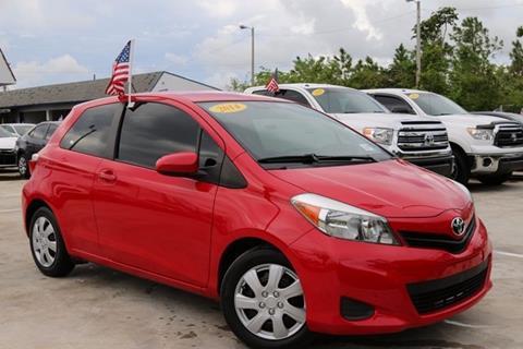 2014 Toyota Yaris for sale in Homestead, FL