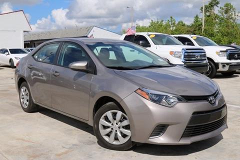 2016 Toyota Corolla for sale in Homestead, FL