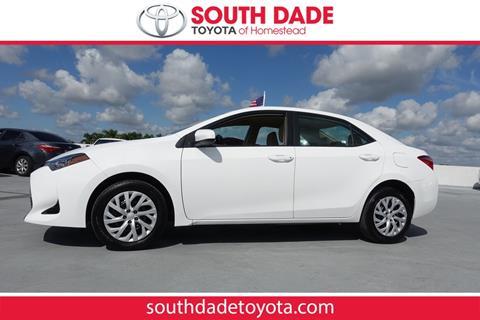 2018 Toyota Corolla for sale in Homestead, FL
