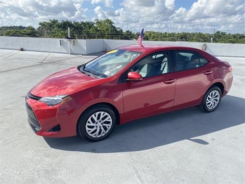 2017 Toyota Corolla for sale in Homestead, FL