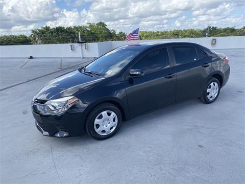 2016 Toyota Corolla for sale in Homestead, FL