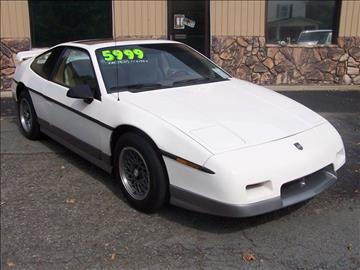 1986 Pontiac Fiero for sale at DORSON'S AUTO SALES in Clifford PA