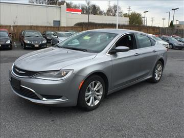2015 Chrysler 200 for sale in Baltimore, MD