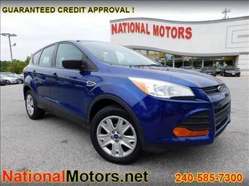 2013 Ford Escape for sale in Baltimore, MD