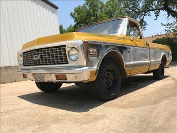 1972 Chevrolet C/K 10 Series for sale at North Texas Motorsports in Denton TX