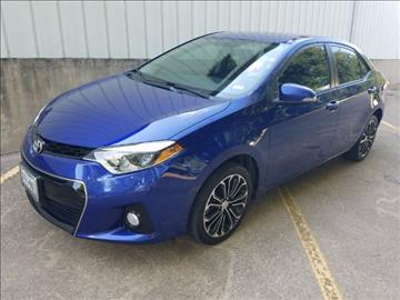 2015 Toyota Corolla for sale at North Texas Motorsports in Denton TX