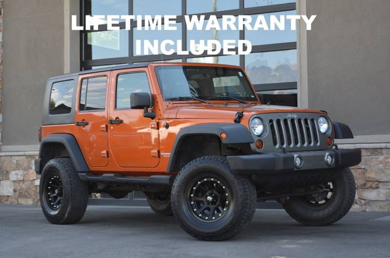 2010 Jeep Wrangler Unlimited 4x4 Sport 4dr SUV   Salt Lake City UT