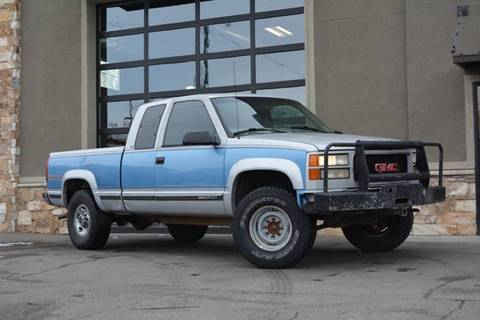 1997 GMC Sierra 2500 for sale in Salt Lake City, UT