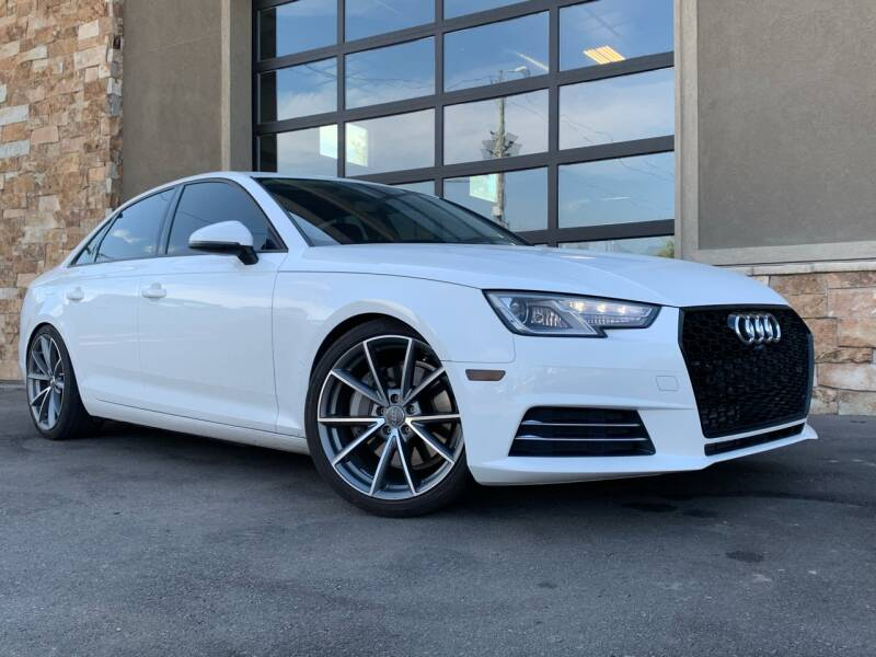 2017 Audi A4 for sale at Unlimited Auto Sales in Salt Lake City UT