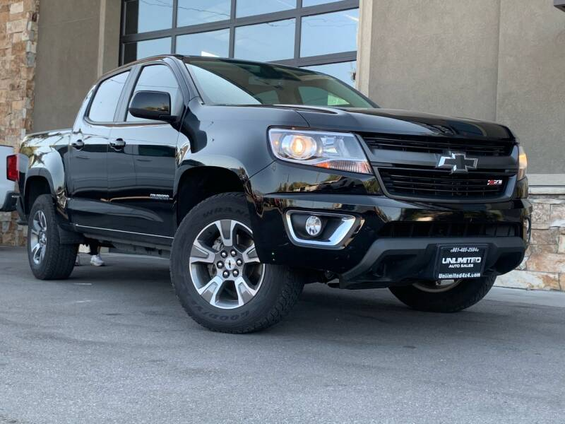 2019 Chevrolet Colorado for sale at Unlimited Auto Sales in Salt Lake City UT