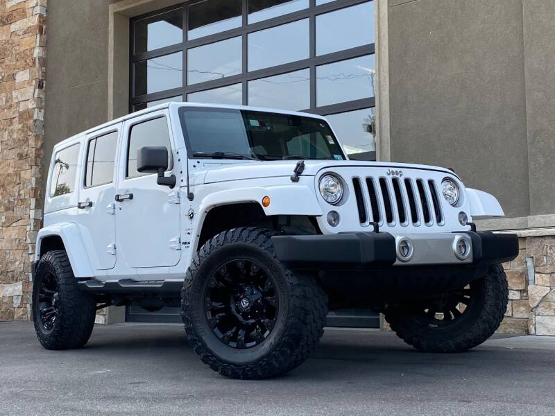 2017 Jeep Wrangler Unlimited for sale at Unlimited Auto Sales in Salt Lake City UT