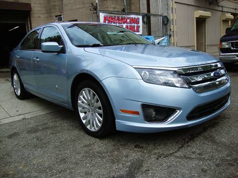 2011 Ford Fusion Hybrid for sale at Discount Auto Sales in Passaic NJ