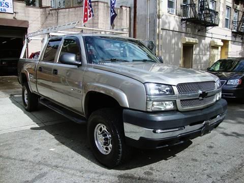 2003 Chevrolet Silverado 2500HD for sale at Discount Auto Sales in Passaic NJ