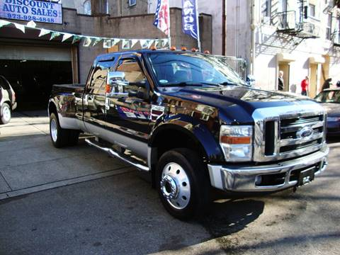 2008 Ford F-450 Super Duty for sale at Discount Auto Sales in Passaic NJ