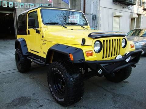 2001 Jeep Wrangler for sale at Discount Auto Sales in Passaic NJ