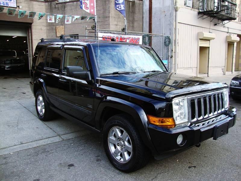 2007 jeep commander sport in passaic nj discount auto sales. Black Bedroom Furniture Sets. Home Design Ideas
