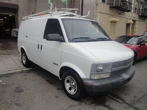 2002 Chevrolet Astro Cargo for sale at Discount Auto Sales in Passaic NJ