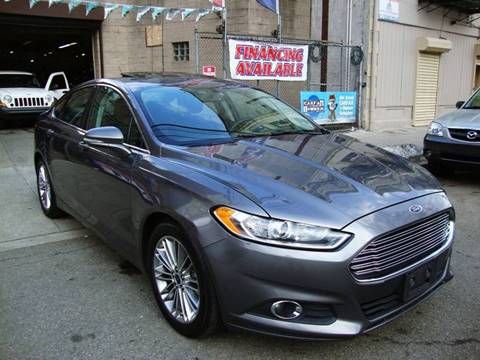 2013 Ford Fusion for sale at Discount Auto Sales in Passaic NJ