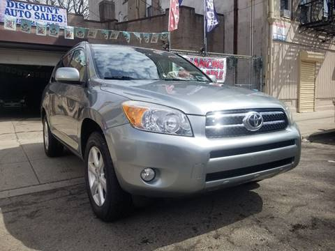 2008 Toyota RAV4 for sale at Discount Auto Sales in Passaic NJ