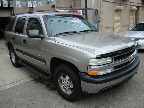 2003 Chevrolet Tahoe for sale at Discount Auto Sales in Passaic NJ