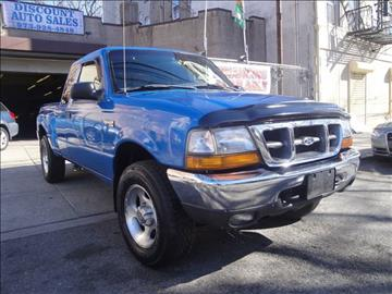 1999 Ford Ranger for sale at Discount Auto Sales in Passaic NJ