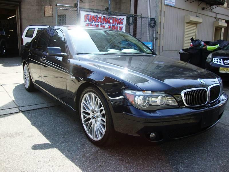 2007 BMW 7 Series for sale at Discount Auto Sales in Passaic NJ