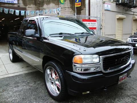 2001 GMC Sierra 1500 for sale at Discount Auto Sales in Passaic NJ