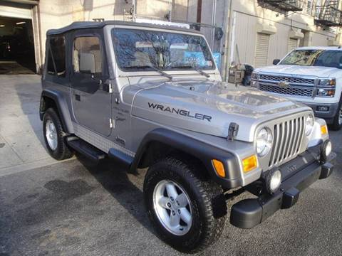 2000 Jeep Wrangler for sale at Discount Auto Sales in Passaic NJ